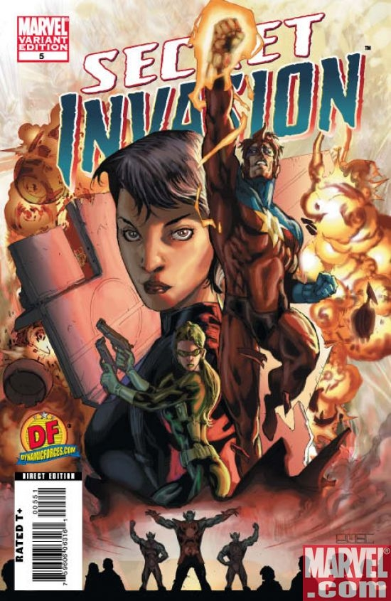 SECRET INVASION #5 (Dynamic Forces var.)