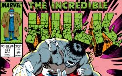 INCREDIBLE HULK #361 COVER