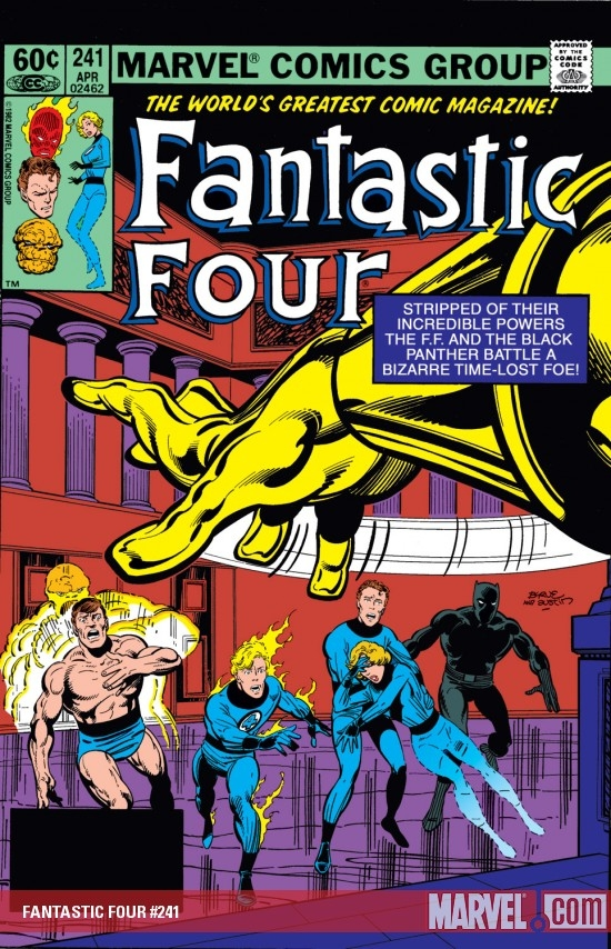 FANTASTIC FOUR #241
