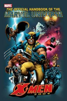 Official Handbook of the Marvel Universe #1