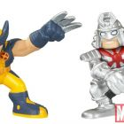 Super Hero Squad Two-Packs: Wolverine and Silver Samurai