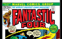 Fantastic Four (1961) #126 Cover