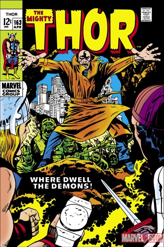Thor (1966) #163