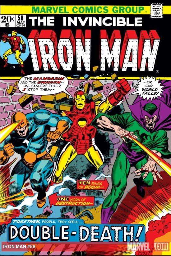 Iron Man (1968) #58