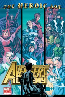 Avengers Academy #2  (2ND PRINTING VARIANT)