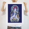 Mighty Fine: Mystique Nouveau art print by Megan Lara