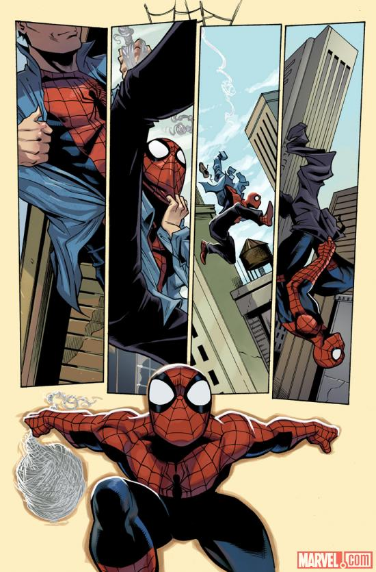 Amazing Spider-Man Annual #39 preview art by Lee Garbett