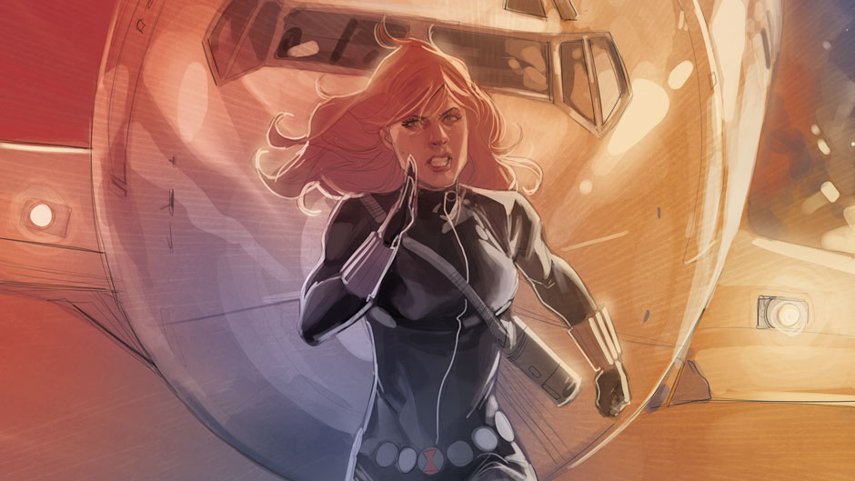 Back To Work With Black Widow