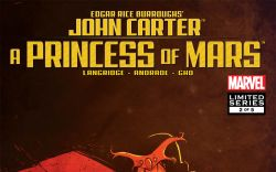 John Carter All Ages (2011) #2 Cover