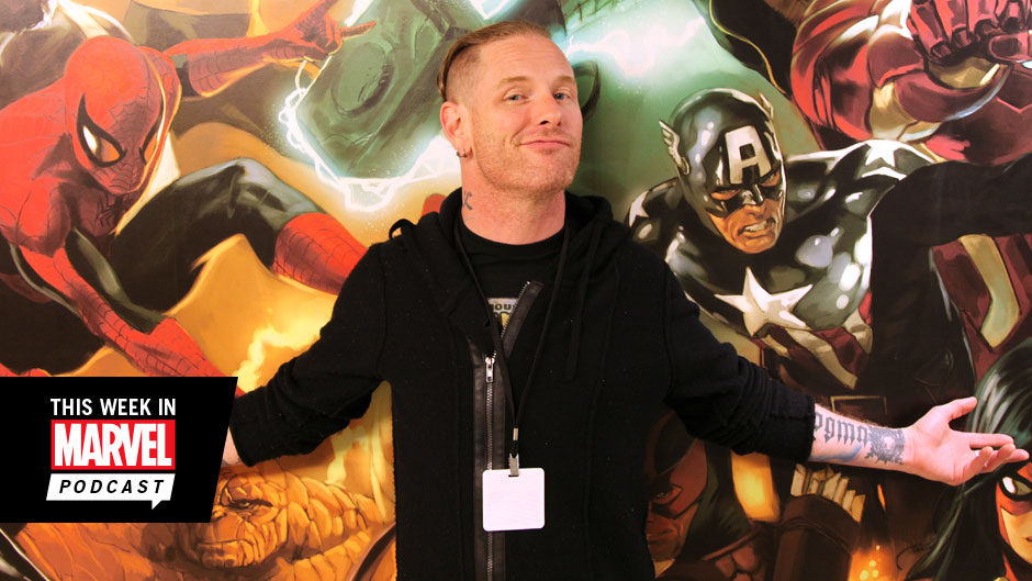 Download The This Week in Marvel Podcast with Slipknot's Corey Taylor