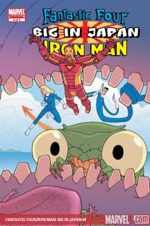 Fantastic Four/Iron Man: Big in Japan #4
