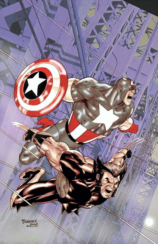 WOLVERINE/CAPTAIN AMERICA (2003) #4 COVER
