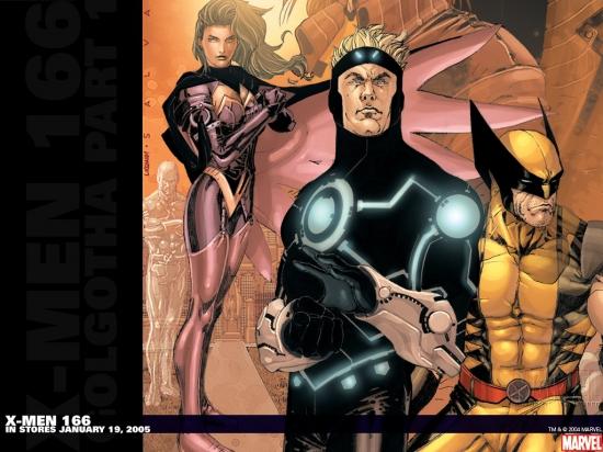 X-Men (2004) #166 Wallpaper