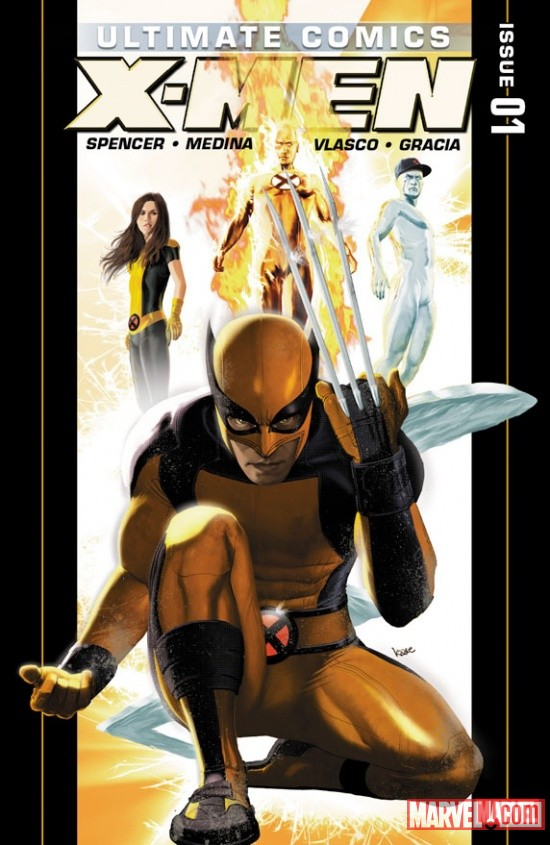 Ultimate Comics X-Men #1 Cover by Kaare Andrews