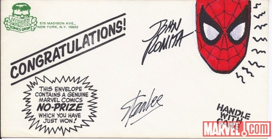 Stan Lee/John Romita Sr.-signed No-Prize