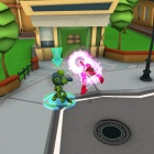 Screenshot of the Scarlet Witch from Super Hero Squad Online