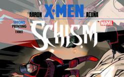 X-MEN: SCHISM 3 2ND PRINTING VARIANT