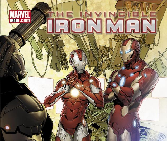 Invincible Iron Man (2008) #29