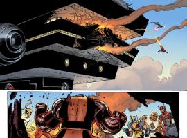 Avengers Vs. X-Men #2 preview art by John Romita Jr.