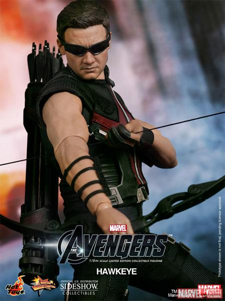 Hawkeye Sixth Scale Figure (by Hot Toys)