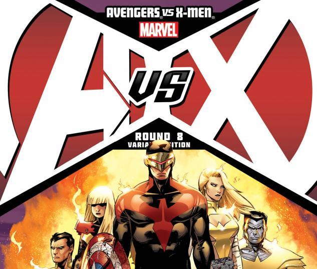 Avengers VS. X-Men #8 Variant Cover by Adam Kubert