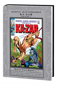 MARVEL MASTERWORKS: KA-ZAR VOL. 1 HC (Hardcover)