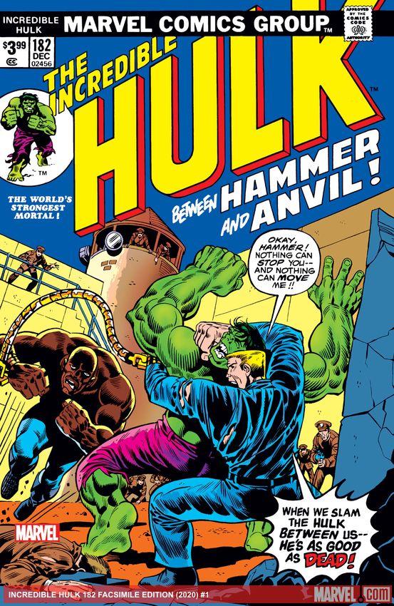 Incredible Hulk: Facsimile Edition (2020) #182