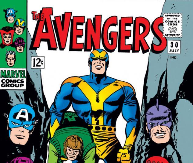 Avengers (1963) #30 cover
