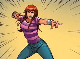 Marvel AR: Flashback to Spider-Mary Jane