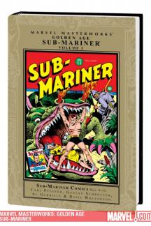 Marvel Masterworks: Golden Age Sub-Mariner Vol. 3 (Hardcover)