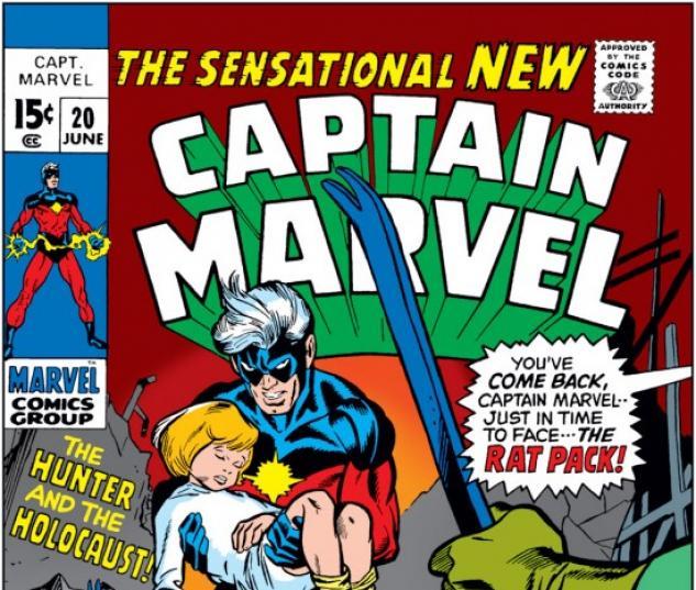 CAPTAIN MARVEL #20 COVER