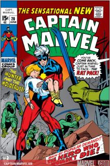 Captain Marvel (1968) #20