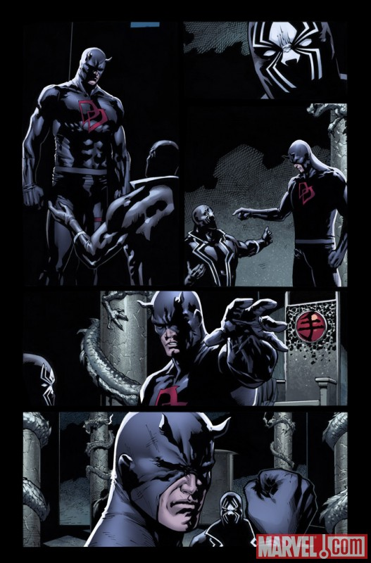 SHADOWLAND #2 preview art by Billy Tan 6