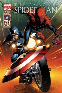 Amazing Spider-Man (1999) #656 (CAPTAIN AMERICA 70TH ANNIVERSARY VARIANT)
