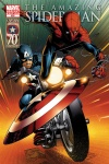 Amazing Spider-Man (1999) #656 (CAPTAIN AMERICA 70TH ANNIVERSARY VARIANT)