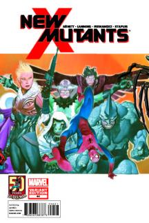 New Mutants (2010) #44 (Asm in Motion Variant)