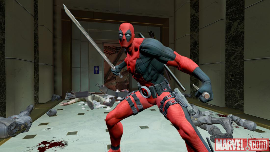 Deadpool's video game promises that no katana is safe