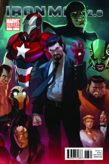 Iron Man 2.0 (2010) #3 (DJURDJEVIC VARIANT)