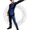 Phoenix Wright character art from Ultimate Marvel vs. Capcom 3