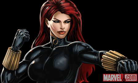 Black Widow from Marvel: Avengers Alliance