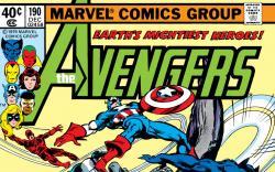 Avengers (1963) #190 Cover