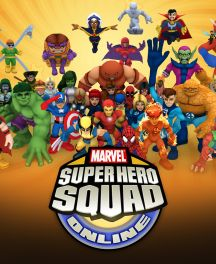 Super Hero Squad Online