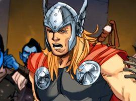 Marvel AR: Thor: God of Thunder #17 Cover Recap