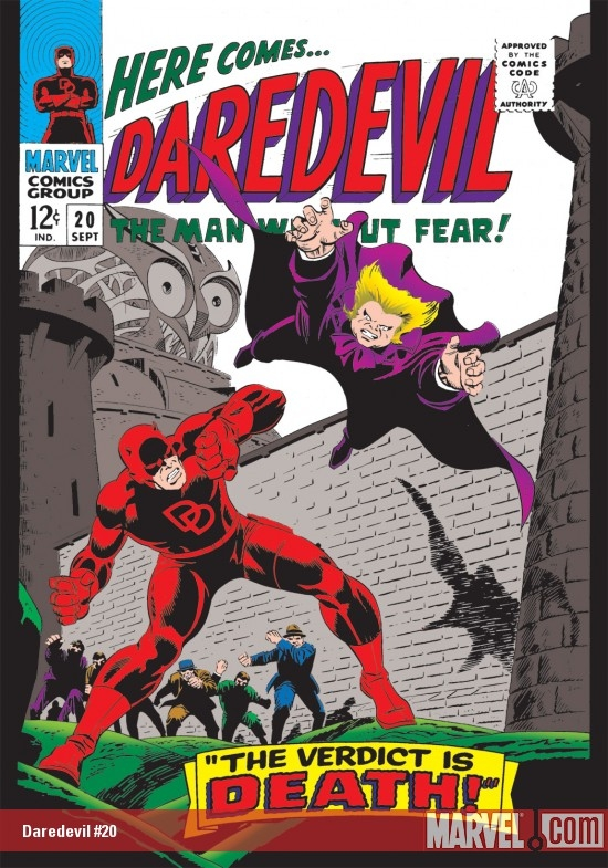 DAREDEVIL #20 COVER