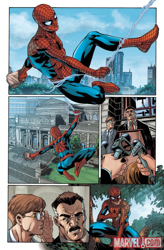 SPIDER-MAN: BACK IN QUACK #1 preview art by Mark Brooks 2