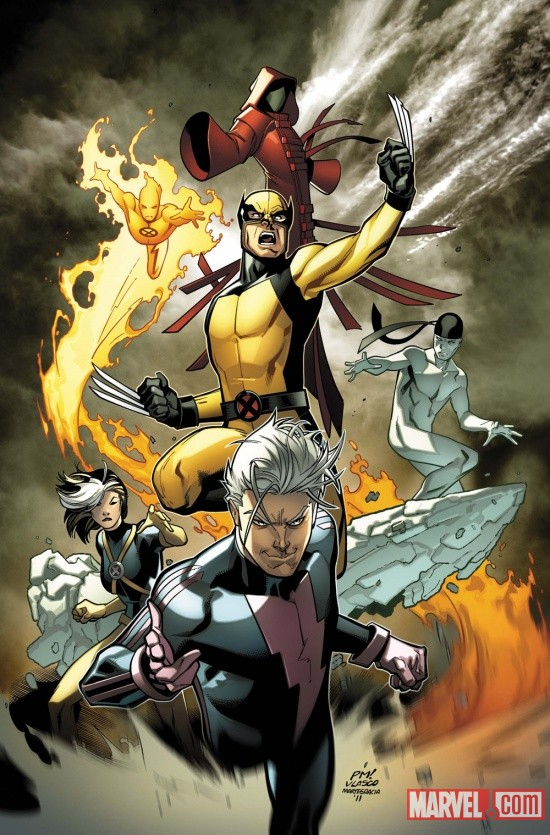 Ultimate Comics X-Men #1 cover by Paco Medina