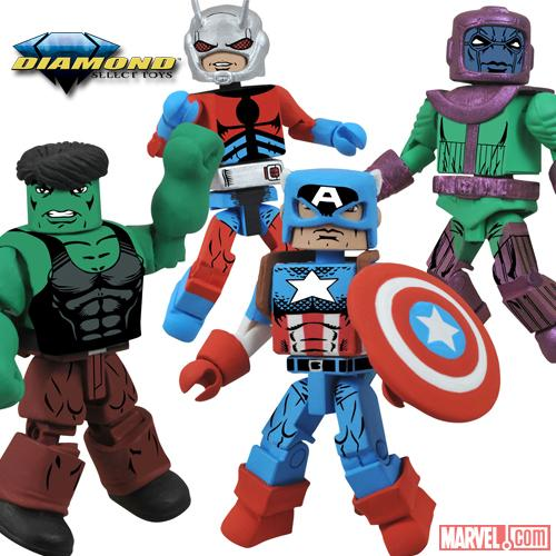 MarvelStore.com Delivers Exclusive Avengers Toys