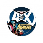 Avengers VS X-Men button