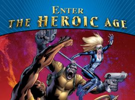 Image Featuring Hank Pym, Black Widow, Luke Cage, Hawkeye, Gorilla Man