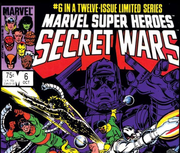 Secret Wars (1984) #6